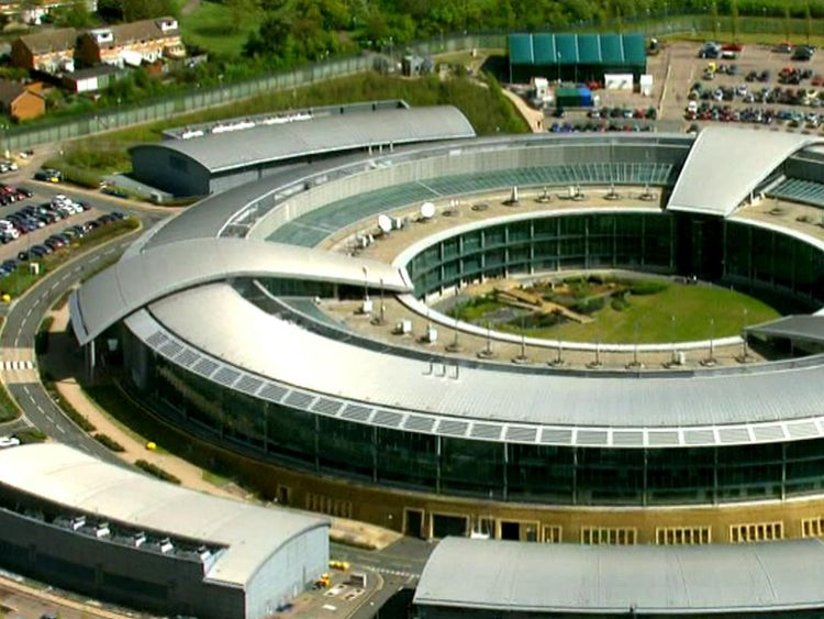 Sky News was granted exclusive access to GCHQ