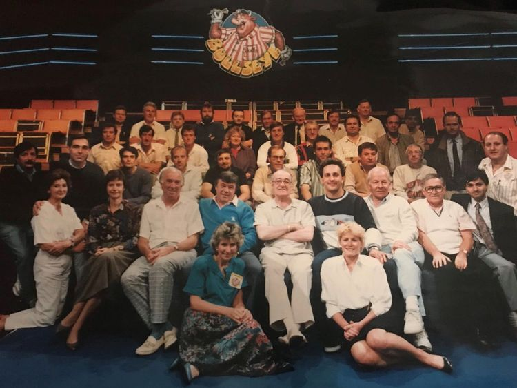 Jim Bowen and Tony Green worked together on Bullseye
