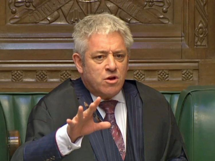Boothroyd: Bercow should resign as Speaker