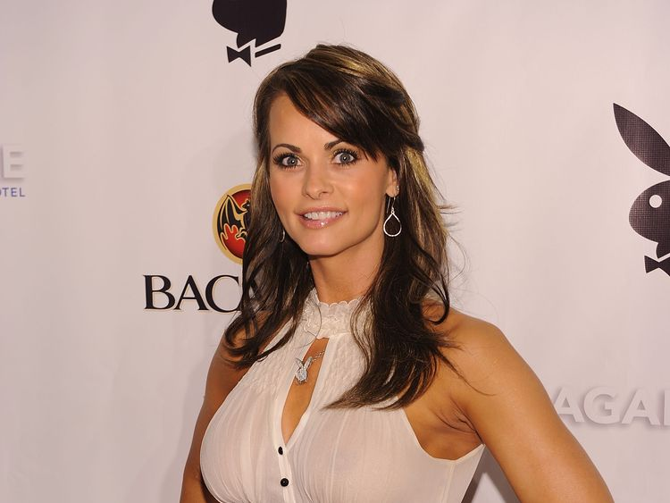 Karen McDougal attends Playboy's Super Saturday Night Party at Sagamore Hotel on February 6, 2010 in Miami Beach, Florida