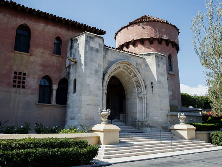 Katy Perry has been trying to secure the purchase of this former convent in LA