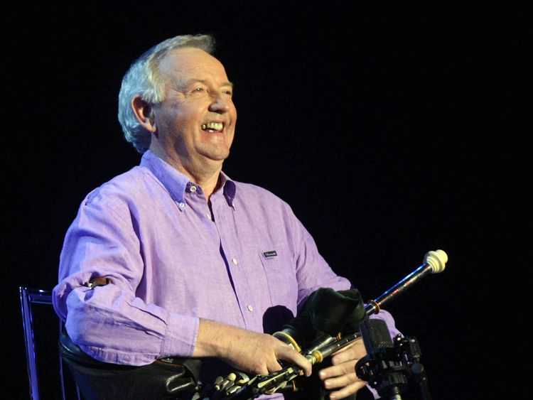 Irish music giant Liam O'Flynn dies aged 72