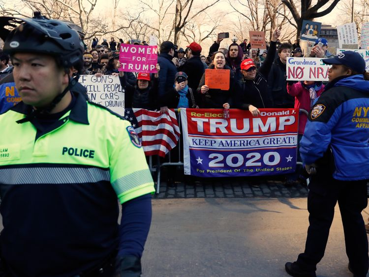 The marchers faced opposition in lots of cities