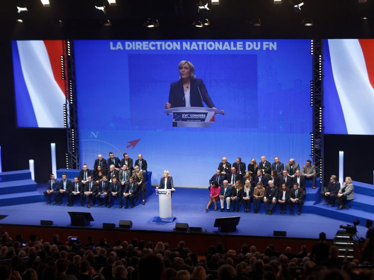 Marine Le Pen wants to take the National Front into government