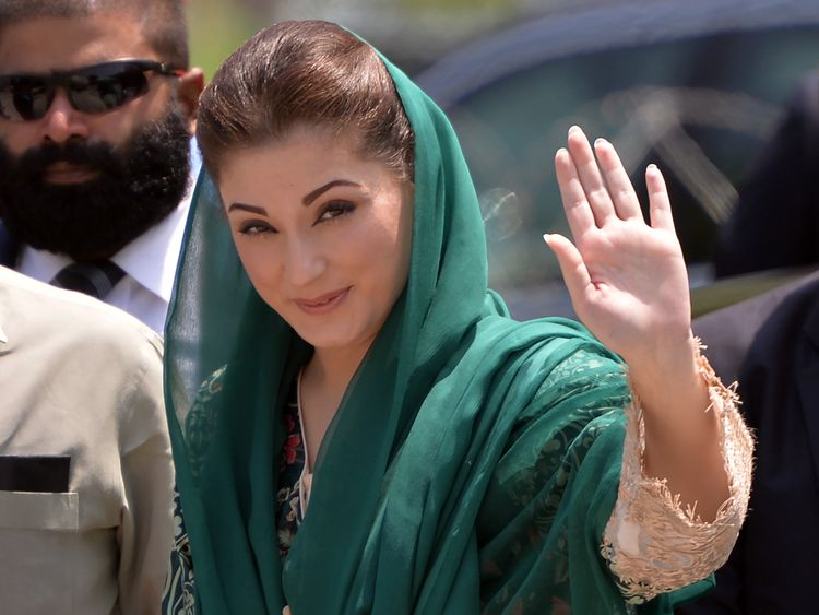 The daughter of former Prime Minister Nawaz Sharif, Maryam Nawaz, was also blocked from visiting London