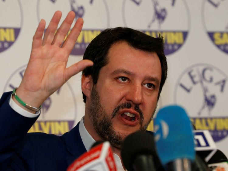 Matteo Salvini says his party's surge in the polls was due to economic policies