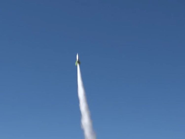 A video of the successful launch was filmed by Noize TV. Credit: Noize TV