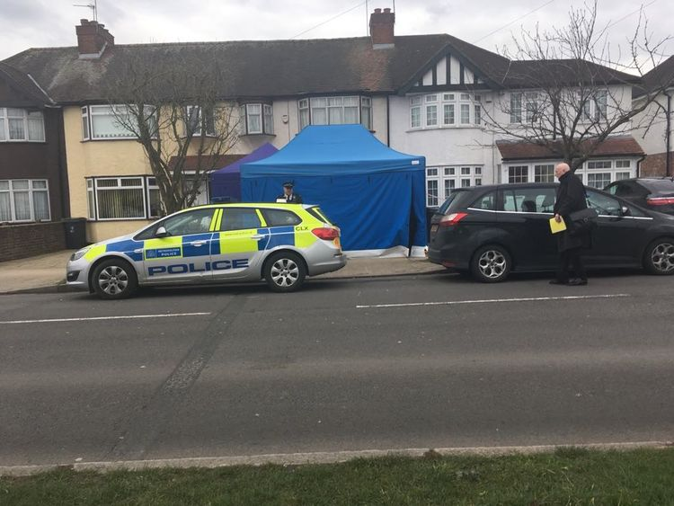 Nikolai Glushkov's home in New Malden. Pic: Radio Jackie