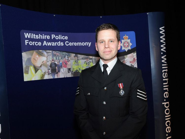 Police Sergeant Nick bailey has been named