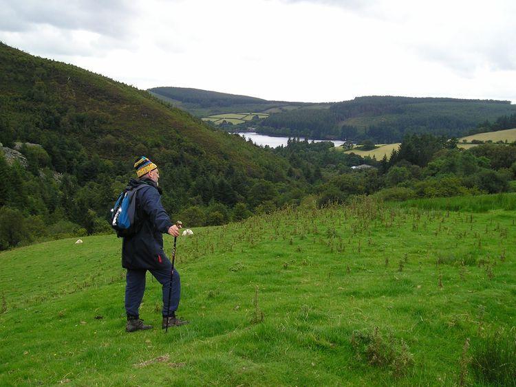 Noel at Lake Vyrnwy, North Wales, in 2013. Pic: Noel Conway