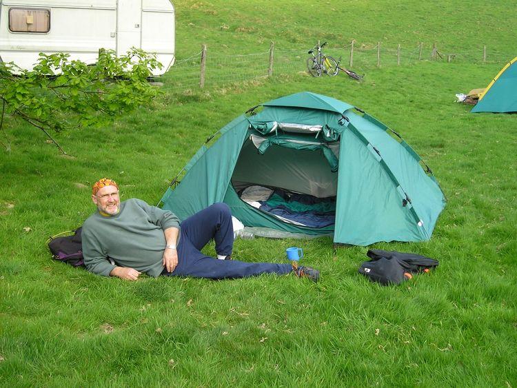 Noel Conway in North Wales in 2007. Pic: Noel Conway