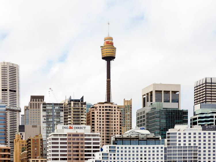 Sydney Tower, a popular tourist attraction, was closed following the man's death