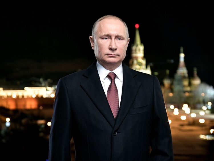 Vladimir Putin inauguration as President of Russian Federation  for 4th term