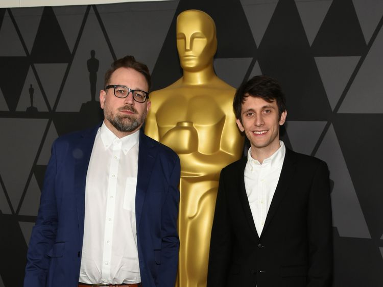 Jakob Schuh (L) and Jan Lachauer directed Revolting Rhymes