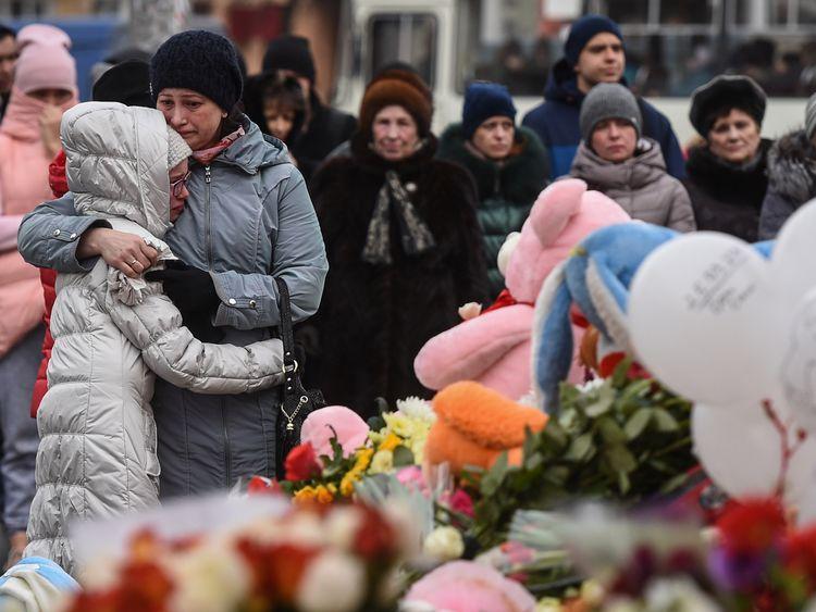 41 children among dead in Siberian mall fire