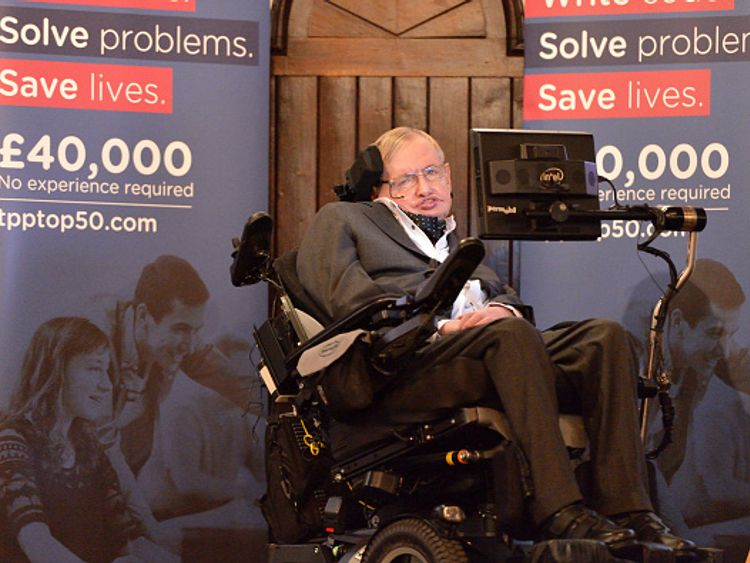 Stephen Hawking will be remembered for his humour as well as his scientific insight
