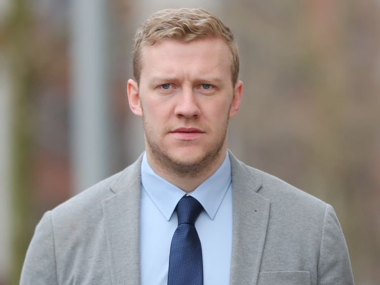 Stuart Olding is accused alongside Paddy Jackson of raping the same woman