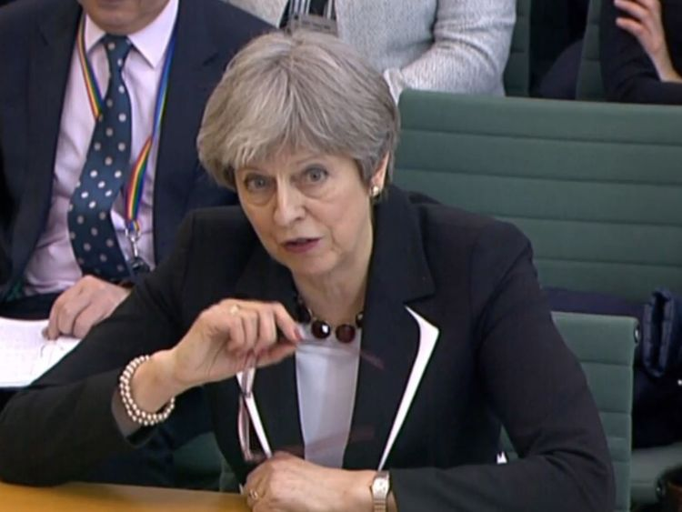Theresa May pledges large cash boost for NHS