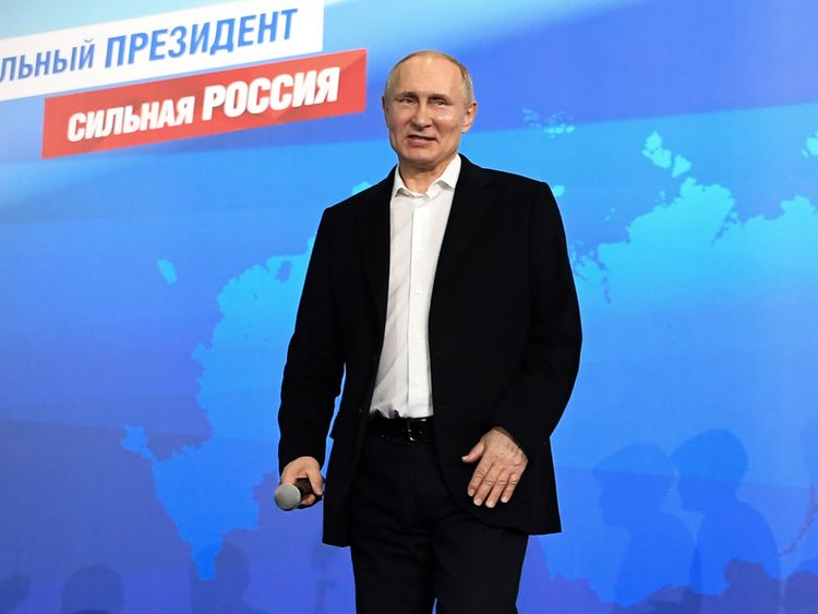 Vladimir Putin has dismissed claims Russia is behind the Salisbury poisoning as 'nonsense'