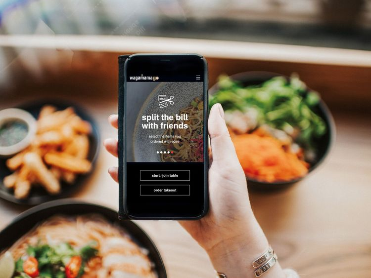 Wagamama worked with Mastercard to create the app. Pic: Wagamama
