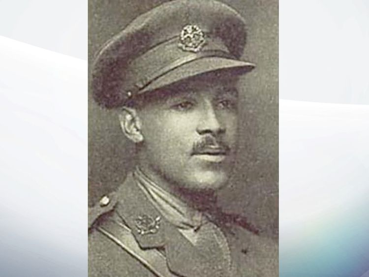 Walter Tull. Pic: Action For Children
