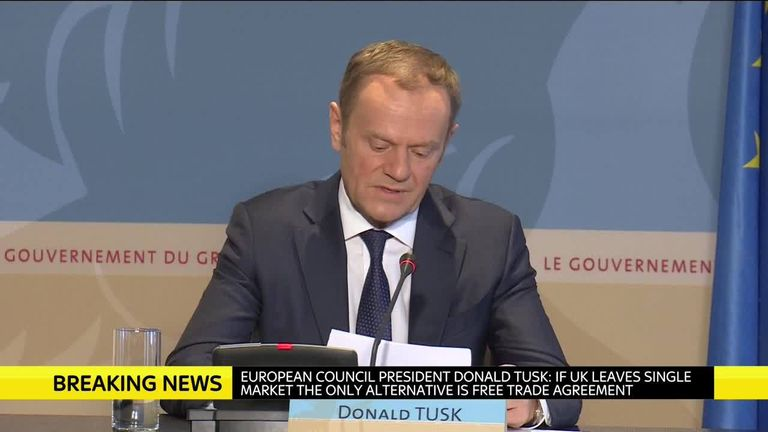 Donald Tusk European union