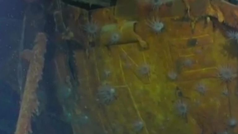 Wreck of USS Juneau discovered in Pacific Ocean