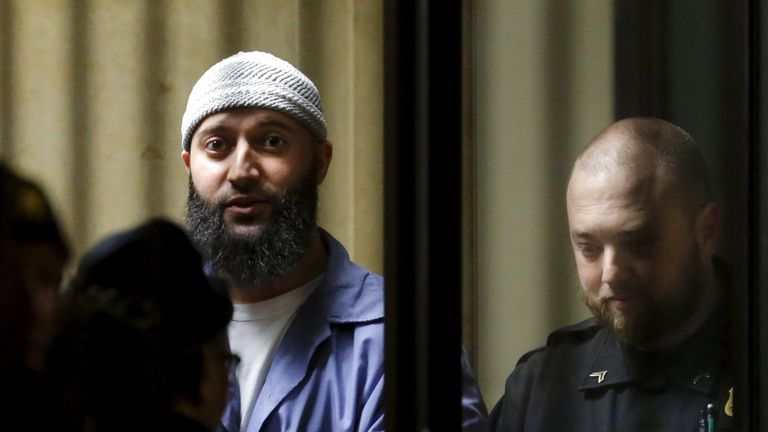 Adnan Syed has been in Baltimore prison for more than a decade