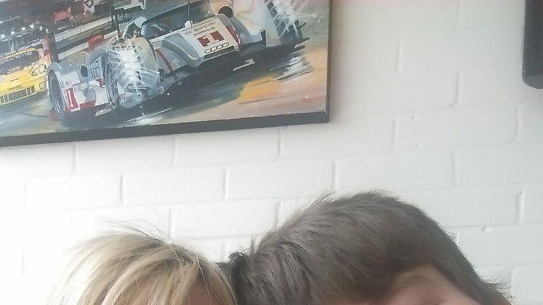 Alicia McColl and her son Kian