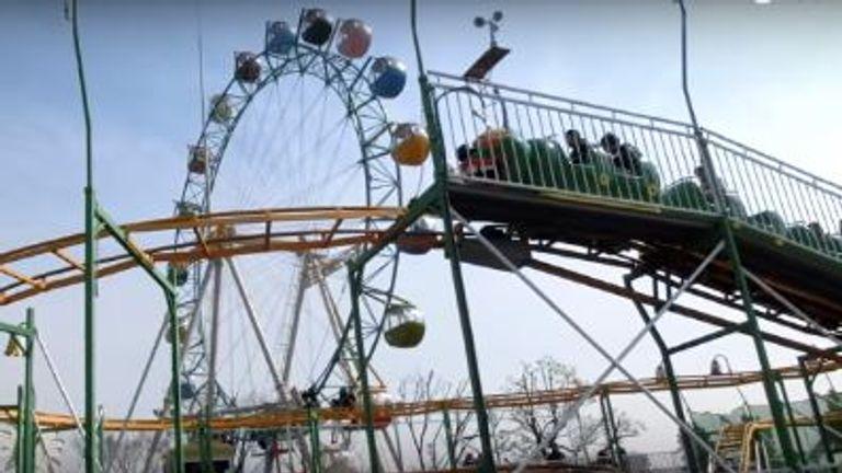 The Family Coaster at Arakawa Amusement Park in Arakawa Ward, Tokyo . Pic: YouTube/Yasuhiro Suzuki