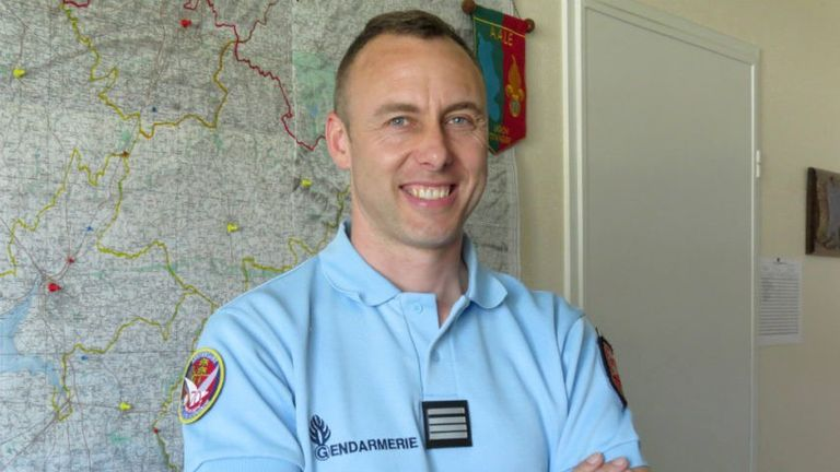 Arnaud Beltrame has been hailed a hero after he swapped places with a hostage in Trèbes on Friday
