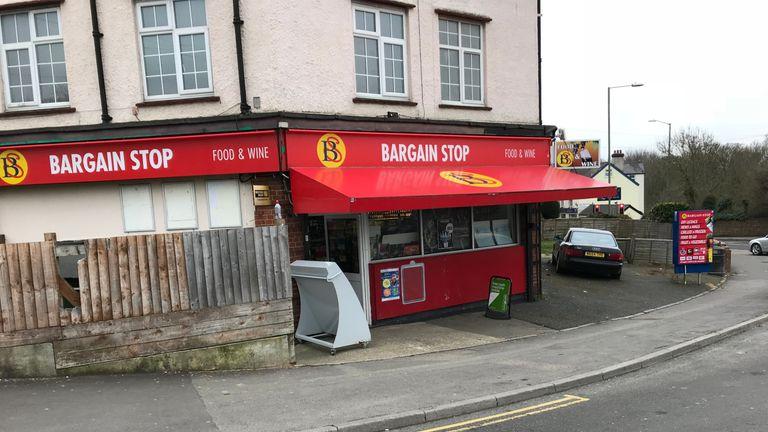 The Bargain Stop shop is near Sergei Skripal's house