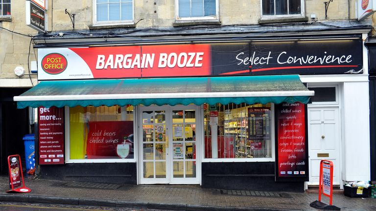Bargain Booze off licence