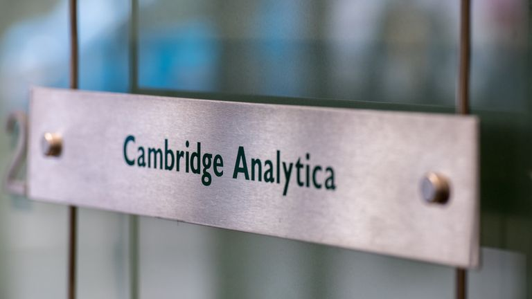 Cambridge Analytica is being investigated by the ICO