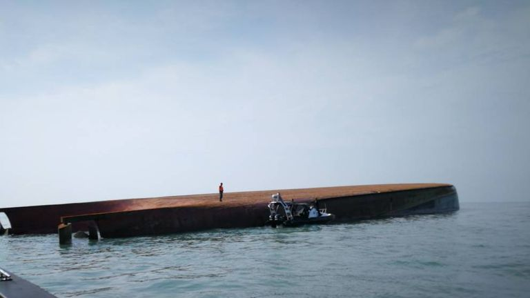 A team of divers joined the rescue efforts