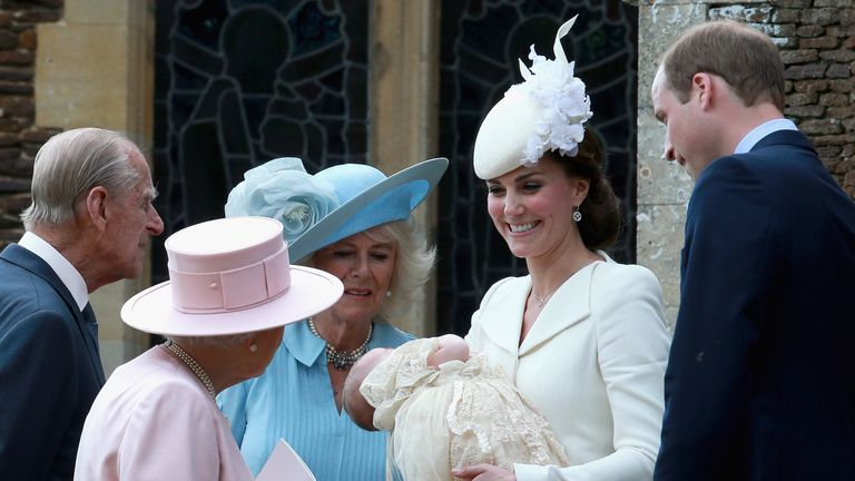 Charlotte's christening took place in King's Lynn