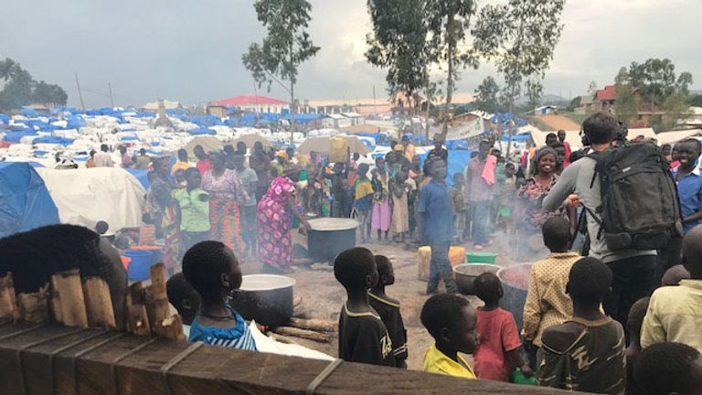 More than 4.5 millionhave fled their homes from fighting in the Congo