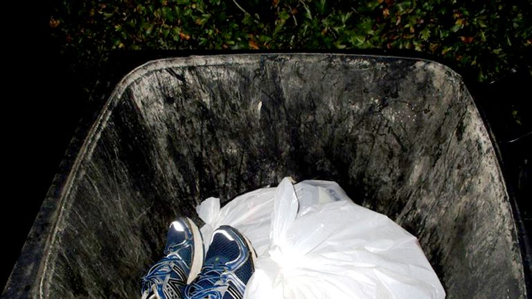 Wheelie bin contained trainers with traces of blood from Leanne McKie