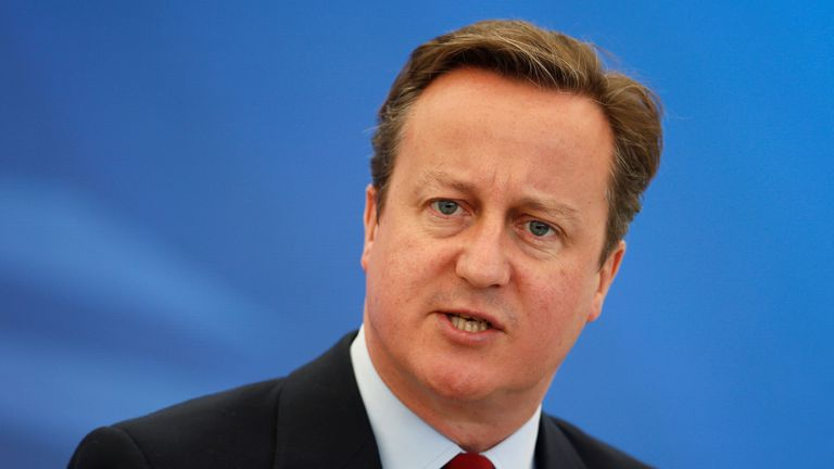 David Cameron's lobbying ban will be in force until July 2018