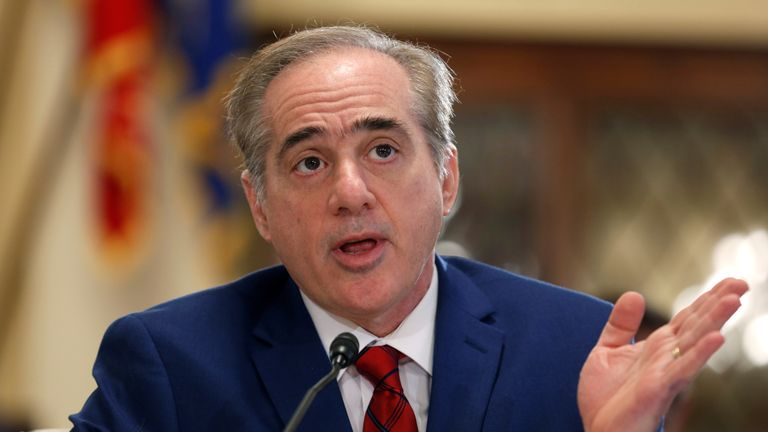 David Shulkin's departure was announced by President Trump on Twitter