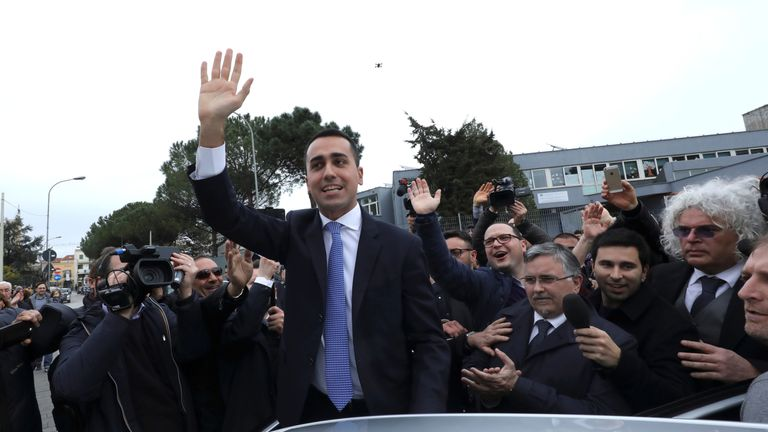 5-Star Movement leader Luigi Di Maio is the big winner. Might he be he next PM?