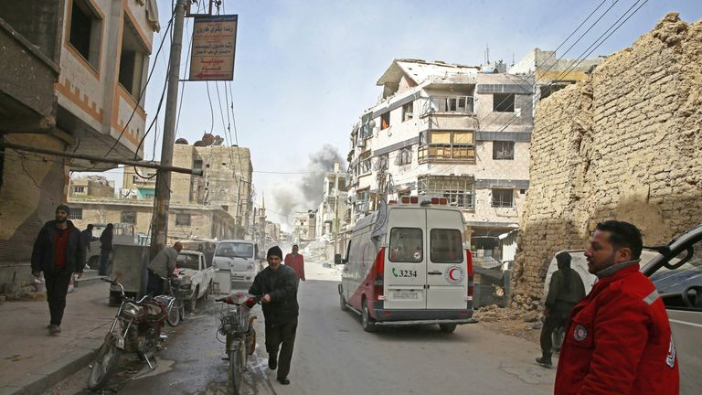 UNHCR and its partners have been helping those who have evacuated eastern Ghouta on the outskirts of Damascus