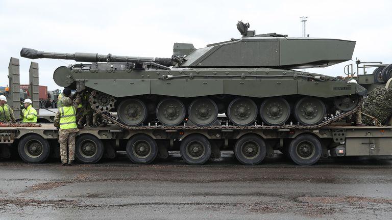 British troops in Estonia