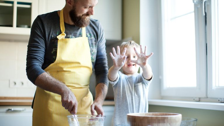 Increasing numbers of fathers want to spend time with their children