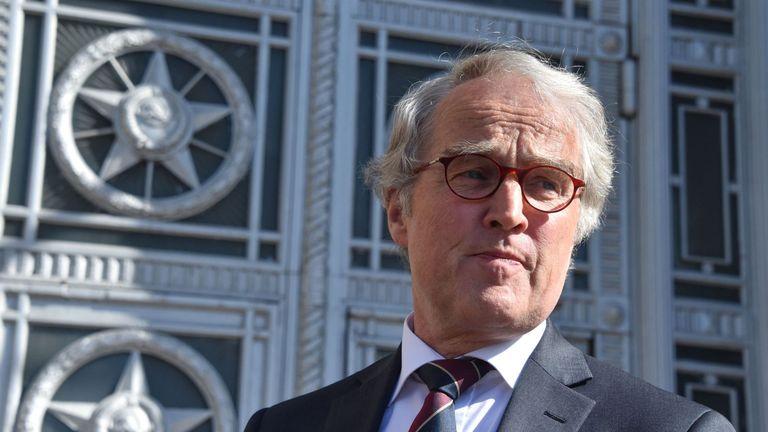 German ambassador to Russia Ruediger Von Fritsch