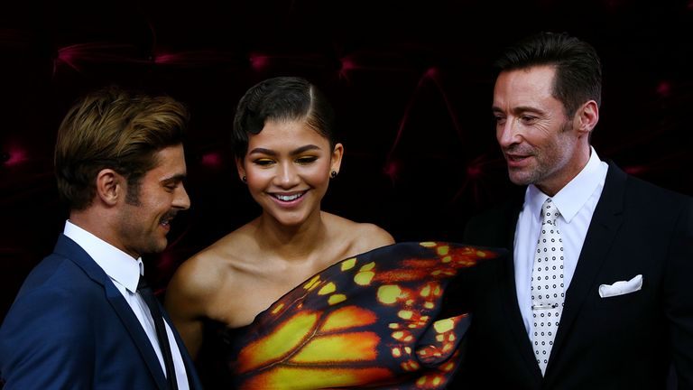 Zac Efron, Zendaya and Hugh Jackman all sing on the album.