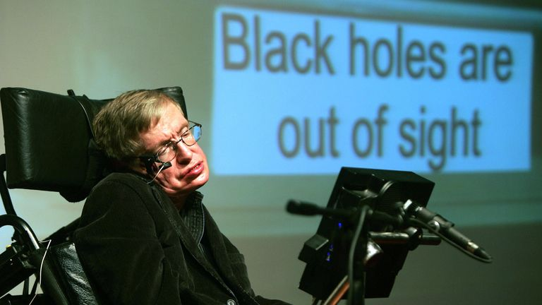 Stephen hawking wrote the bestseller A Brief History of Time