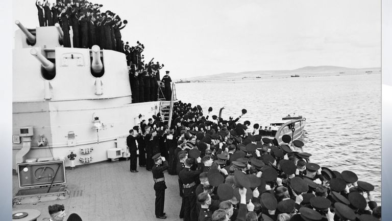 HMS Belfast Celebrates 80th Birthday. Shaddick VT
