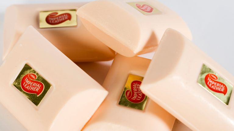 Cussons Imperial Leather soap.