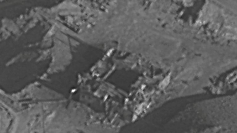 An undated material released by the Israeli military relates to an Israeli air strike on a suspected Syrian nuclear reactor site near Deir al-Zor on Sept 6, 2007. March 21, 2018. IDF